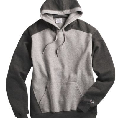 Double Dry Eco Colorblocked Hooded Sweatshirt Thumbnail