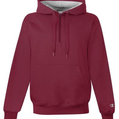 Cotton Max Hooded Quarter-Zip Sweatshirt Thumbnail