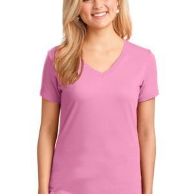 Ladies Core Cotton V Neck Tee Thumbnail