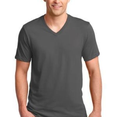 100% Combed Ring Spun Cotton V Neck T Shirt Thumbnail
