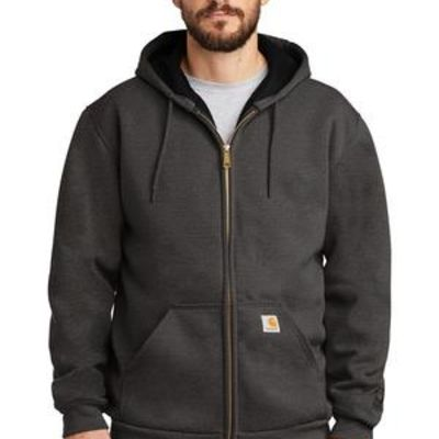 ® Rain Defender ® Rutland Thermal Lined Hooded Zip Front Sweatshirt Thumbnail