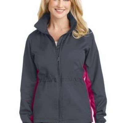 Ladies Core Colorblock Wind Jacket Thumbnail