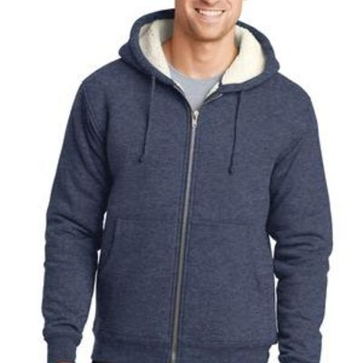 Heavyweight Sherpa Lined Hooded Fleece Jacket Thumbnail