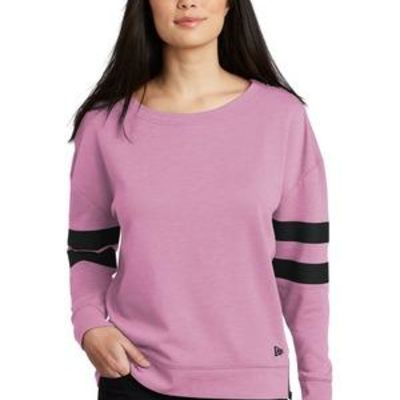 ® Ladies Tri Blend Fleece Varsity Crew Thumbnail