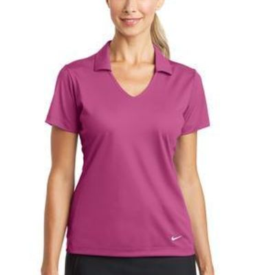 Ladies Dri FIT Vertical Mesh Polo Thumbnail