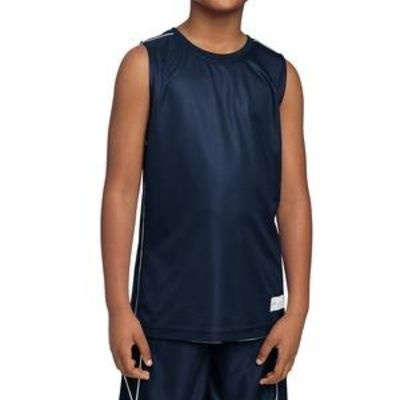 Youth PosiCharge ® Mesh Reversible Sleeveless Tee Thumbnail