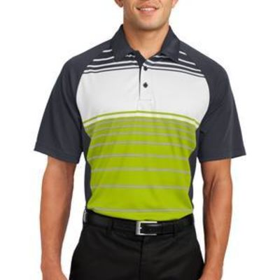 Dry Zone ® Sublimated Stripe Polo Thumbnail