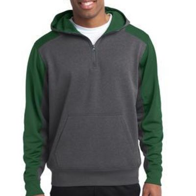 Tech Fleece Colorblock 1/4 Zip Hooded Sweatshirt Thumbnail