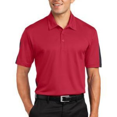 PosiCharge ® Active Textured Colorblock Polo Thumbnail