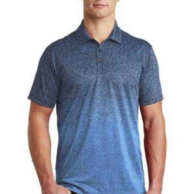 ® Ombre Heather Polo Thumbnail