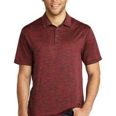 ® PosiCharge ® Electric Heather Polo Thumbnail