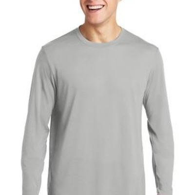 Long Sleeve PosiCharge ® Competitor ™ Cotton Touch ™ Tee Thumbnail