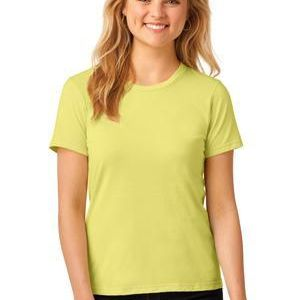 Ladies 100% Combed Ring Spun Cotton T Shirt Thumbnail