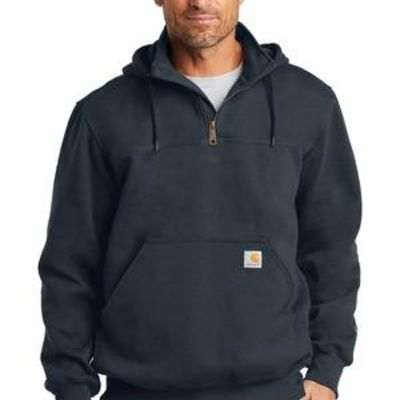 ® Rain Defender ® Paxton Heavyweight Hooded Zip Mock Sweatshirt Thumbnail