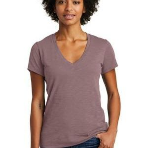 Alternative Women's Weathered Slub So Low V Neck Tee Thumbnail