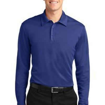 Silk Touch™ Performance Long Sleeve Polo Thumbnail