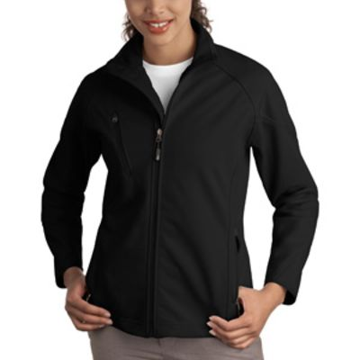 Ladies Textured Soft Shell Jacket Thumbnail