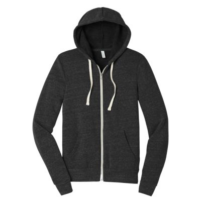 Unisex Triblend Sponge Fleece Full Zip Hoodie Thumbnail