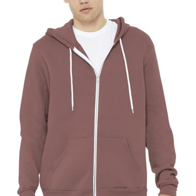 Unisex Sponge Fleece Full Zip Hoodie Thumbnail