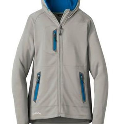 ® Ladies Sport Hooded Full Zip Fleece Jacket Thumbnail
