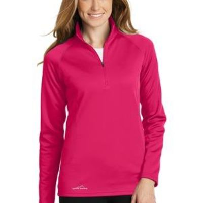Ladies Smooth Fleece Base Layer 1/2 Zip Thumbnail