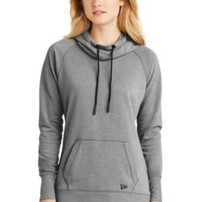 Ladies Tri Blend Fleece Pullover Hoodie Thumbnail