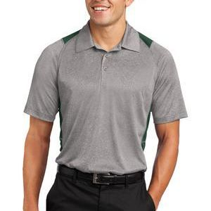 Heather Colorblock Contender ™ Polo Thumbnail
