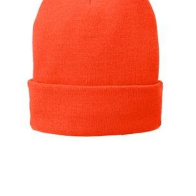 Fleece Lined Knit Cap Thumbnail